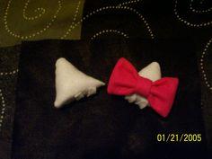 I made Hello Kitty ears!