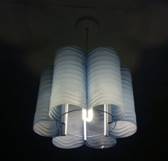 Bluebell 6 - Upcyceld Water Bottle Lampshade. £69.00, via Etsy.