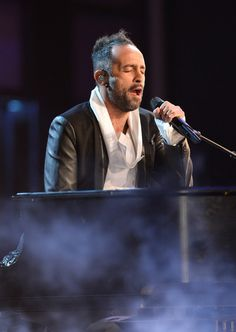 Musician Mario Domm performs onstage during the 14th Annual Latin GRAMMY Awards held at the Mandalay Bay Events Center on November 21, 2013 ...