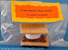 bake smore, schools, smore treat, back to school treats for kids, preschool stuff, sun, crafts, backtoschool, school craft