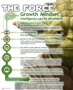 Growth mindset, Light Side edition.