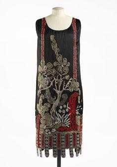 Patou evening dress, 1925.