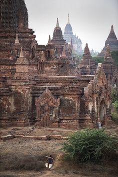 Bagan Pagodas -  Burma