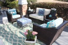 Loving my new outdoor room! Happy Spring!
