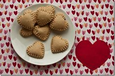 Chocolate Hazelnut Heart Tarts
