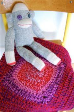 Crochet for pets!  Bullseye Pet Mat by Kim Werker