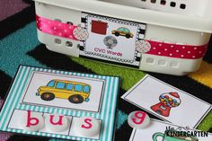 Miss Kindergarten: Organizing Math and Literacy Stations #MakeAmazing