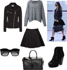 Outfit Inspired By: SNSD Yuri Airport Fashion