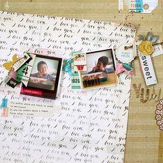 2 photos + scraps art journal, scrappi idea, crafti stuff, scrapbook layout, kaori layout