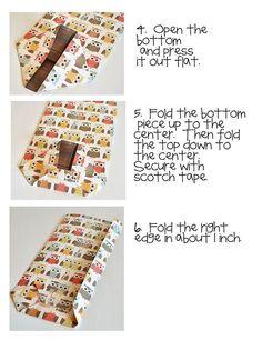 Paper bag tutorial Wendy Sue Anderson
