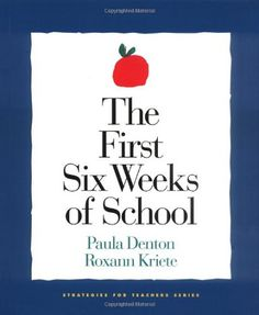 The First Six Weeks of #School