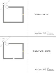 paper circuit templates