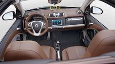 the BoConcept signature style smart fortwo interior #smartvilleSweepstakes