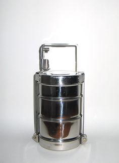 Dabba - stainless steal stackable lunch box.  I love mine!