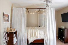 romantic bedrooms, cozi bedroom, cozy bedroom, canopy beds, bedroom sanctuary
