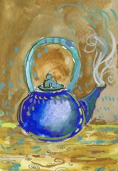 teapot by wireknot on Etsy, $40.00