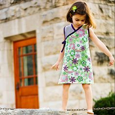 dress patterns, wrap dresses, fabric patterns, child wrap dress pattern, crisscross kimono