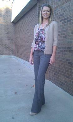 Teacher Outfit from a Teacher Outfit Blog