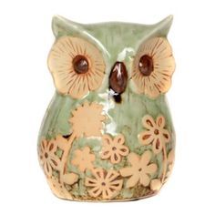 owl obsess, decor galor, statues, floral owl, 10 floral