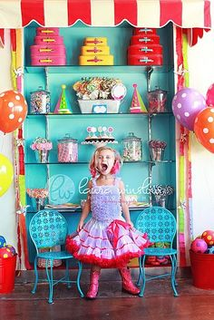 little girls, candy shop, little girl parties, birthday parties, party themes, candi, lollipop party, photo shoots, bright colors