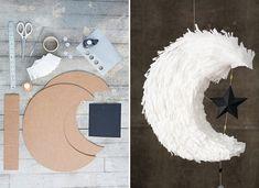Moon Pinata DIY by Oh Happy Day