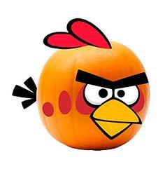 Angry Birds Bird Pumpkin Decoration Push ins