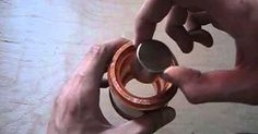 """(TruthSeekerDaily) When a magnet is dropped down a conducting copper pipe, it feels a resistive force (assuming that magnets have feelings). The falling magnet induces a current in the copper pipe and, by Lenz's Law, the current creates a magnetic field that opposes the changing field of the falling magnet. Thus, the magnet is """"repelled""""…"""