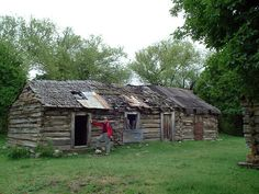 The old homestead in Argentina.