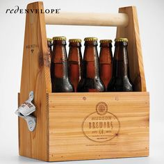 Take the congratulatory 6 pack to a whole new level with this gift.
