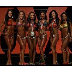 Bikini Olympia finalists