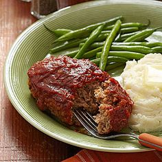 #Pork and #apples meld perfectly to create this skillet #meatloaf.