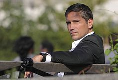 This man is just so damn HOT! | Jim Caviezel as John Reese on Person of Interest | @TV Guide