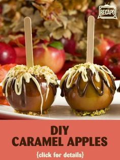 Caramel apples are a favorite treat, but they take time and effort to make. Now with caramel sheets, the snack is simple to make and just as delicious! http://www.recapo.com/dr-oz/dr-oz-diet/dr-oz-diy-dark-chocolate-caramel-apples-sour-cream-pasta-sauce-swap/