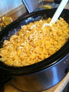 Paula deans crock pot Mac n Cheese:)