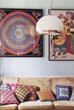 Hermes scarf - FRAMED (by Joslyn Taylor, dhome.dmagazine.c...)