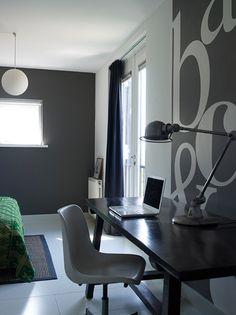 gray wall text