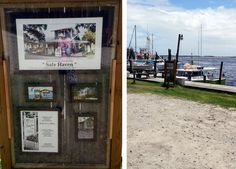 The site of Ryan's Port Market from the movie Safe Haven // Southport, NC // Rhonda Mangin