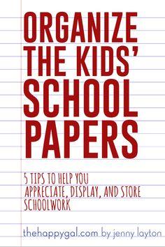 school works, organ kid, organize kids, organ schoolwork, school paper