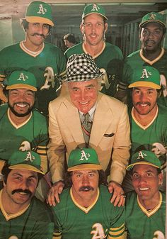 70's Oakland A's w/owner