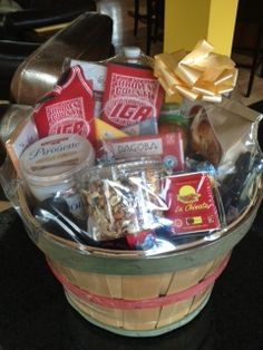 Auction item Brown County I.G.A. gift basket hosted online at 32auctions.