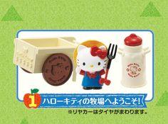 Re-Ment Miniatures - Hello Kitty Farm Life #1