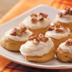 Pumpkin Spice Cookies Recipe | Taste of Home Recipes