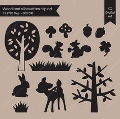 Hey, I found this really awesome Etsy listing at http://www.etsy.com/listing/82993788/woodland-animals-clip-art-forest-animals