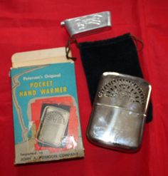 Vintage Hand Warmer Peterson Original in the by ilovevintagestuff