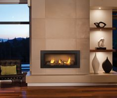 Video: New Fireplace Trends. Mike Powell talks about  Valor's L1 linear gas fireplace contemporari fireplac, famili room, teak furniture, fireplace design, family rooms, valor fireplac, gas fireplaces, live room, hearth