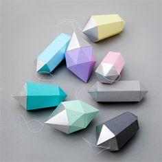 Paper gem templates // New & improved!!