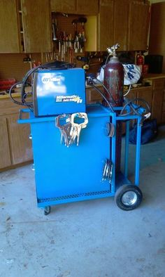 first project another welding cart - WeldingWeb™ - Welding forum for pros and enthusiasts