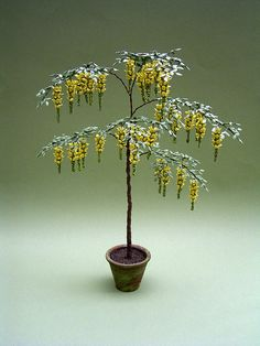 Hey, I found this really awesome Etsy listing at https://www.etsy.com/listing/164039411/laburnum-tree-kit-for-112th-scale