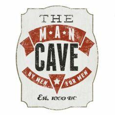 Man Cave Tin Plaque | Kirkland's #ManCave #GiftsForDad