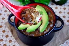 Best Ever Black Bean Soup with Cilantro Lime Rice | Iowa Girl Eats